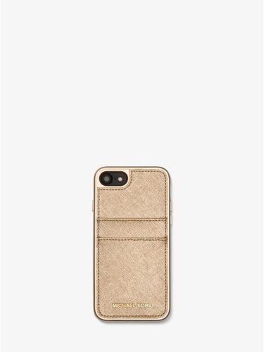 Ốp điện thoại Michael Kors vàng nhạt cho iPhone 7/8