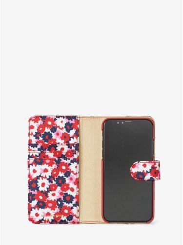Ví điện thoại Michael Kors họa tiết hoa cho iPhone X
