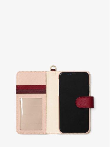 Ví điện thoại Michael Kors màu đỏ cho iPhone X