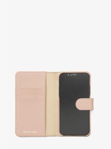Ví điện thoại Michael Kors màu hồng cho iPhone X