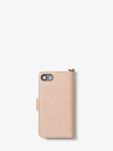 Ví điện thoại Michael Kors màu hồng cho iPhone 7 / 8
