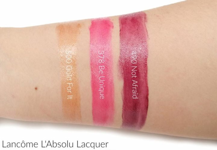 Lancome L'Absolu Lacquer in 490 Not Afraid