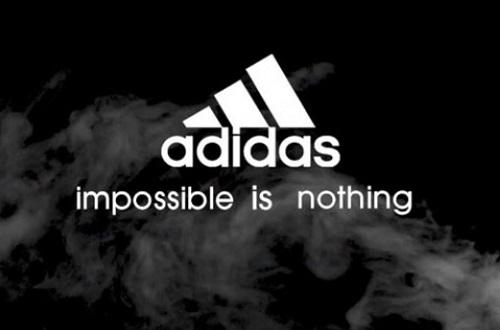 Slogan Adidas